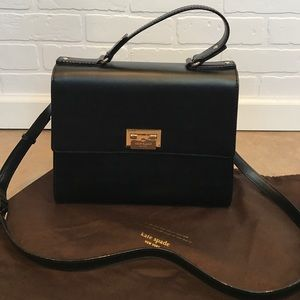 Black Kate Spade handbag purse w/dust bag