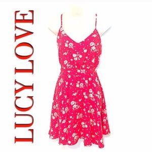 Lucy Love Dresses & Skirts - ❣BOGO 1/2 off❣🆕Penelope floral open mini dress