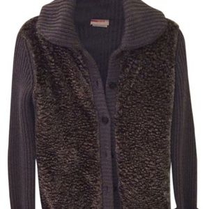 Prada Linea Rossa Sweaters - Prada faux shearling sweater