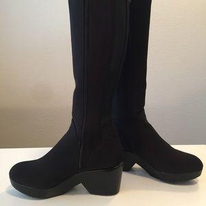 Donald J. Pliner Shoes - Donald J Pliner tall stretch suede boots
