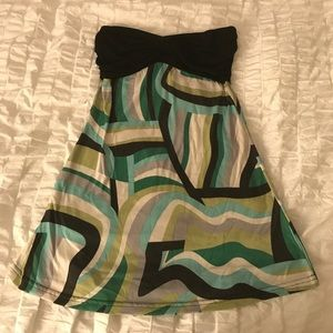 Mascara Tops - *REDUCED* Boutique strapless tunic top!