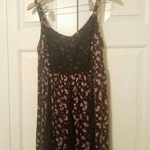 Nwot torrid floral lace dress