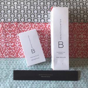Beautycounter Other - Beautycounter Bundle | Face Oil, Exoliatior, Brush