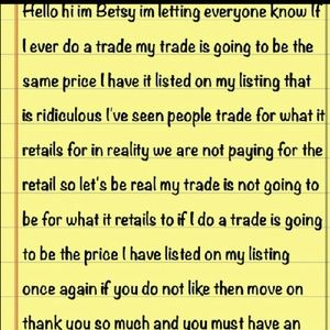 MY RULES ON TRADING