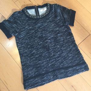 Madewell Tops - Madewell blouse grey XS