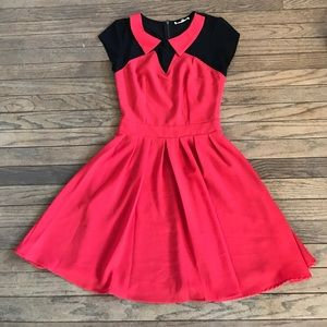 Sugarlips  Dresses & Skirts - Sugarlips Red and Black Flare Dress
