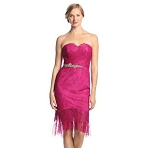 Marchesa Dresses & Skirts - Marchesa Notte Women's Strapless Lace Dress