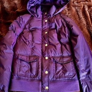 Juicy Couture Jackets & Blazers - Juicy Couture Plum Puffer Jacket ! Beautiful !!!