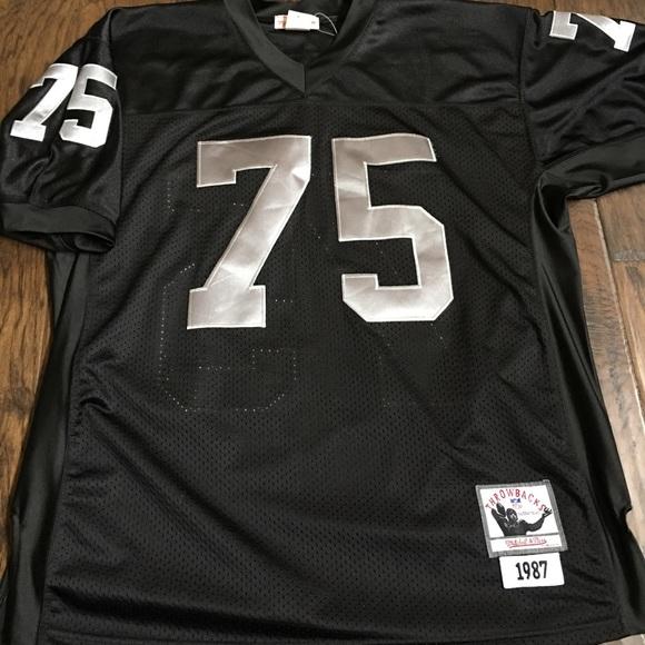 best service d3b63 6ce1a Mitchell & Ness Howie Long Raiders Jersey