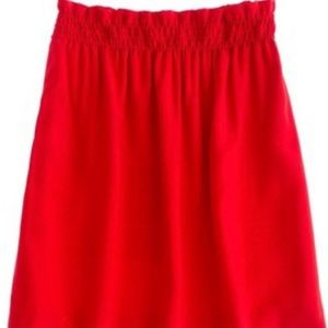 J. Crew Dresses & Skirts - NWT J.Crew red mini city skirt size 00