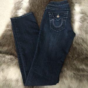 True Religion Denim - True Religion Women's 27 Straight Leg Jeans