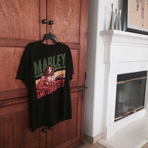 Urban Outfitters Tops - Bob Marley Graphic Tee