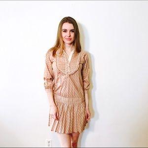 EDUN Dresses & Skirts - EDUN ANTHROPOLOGIE MOLLY DRESS PLAID #983