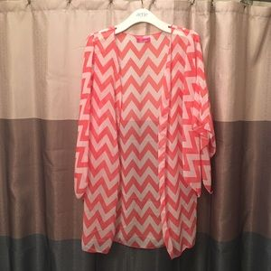 Body Central Sweaters - Body Central • Chevron Cardigan