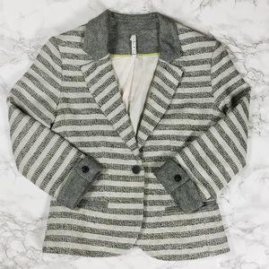 Willow & Clay Jackets & Blazers - Willow and Clay Striped Blazer
