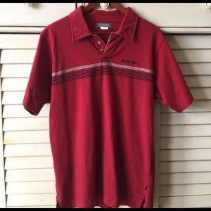 Ezekiel Other - Men's Ezekiel red polo shirt size L.