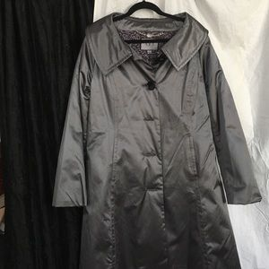 ABS silver label satin coat XL