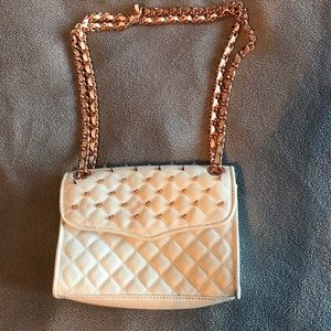 Rebecca Minkoff mini studded quileted affair bag