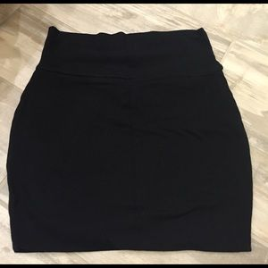 black wet seal bodycon skirt on Poshmark