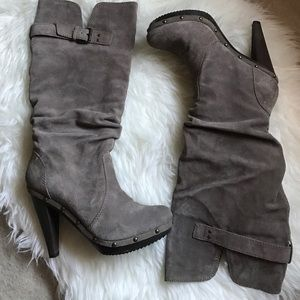Steven by Steve Madden Shoes - Steven by Steve Madden taupe suede boots