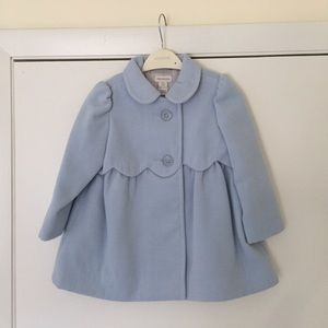 Monsoon Other - NWT Monsoon Baby Sally Scallop Coat