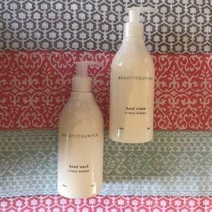 Beautycounter Other - NEW Beautycounter Citrus Mimosa Hand Wash + Cream