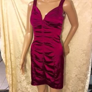 Morgan & Co. Dresses & Skirts - Morgan and Co Burgundy Dress