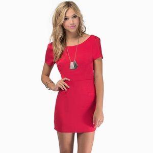 NWOT Tobi Short Red Dress
