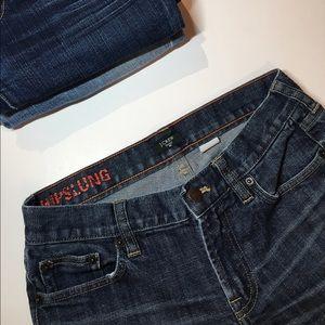 J. Crew Hipslung Jeans