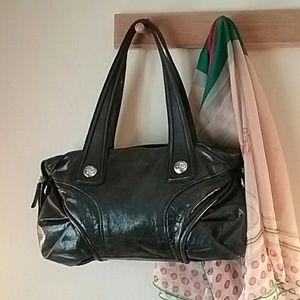 Francesco Biasia Handbags - Huge Francesco Biasia leather bag in exc cond