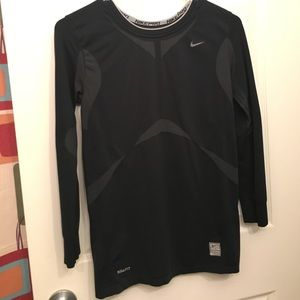 Nike Pro compressive fit 3/4 sleeve top, size XL