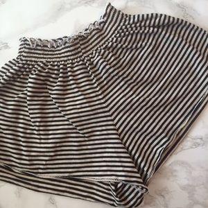 NWT striped Brandy Melville shorts soft stretchy