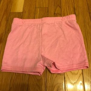 Other - Girls pink sleep shorts size 18M