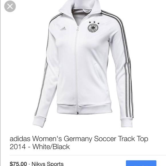 e1dc86140 Adidas Jackets & Coats | Womens Soccer Track Jacket Germany Sz L ...