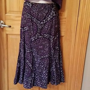 Charter Club Dresses & Skirts - Charter Club size 2P purple skirt
