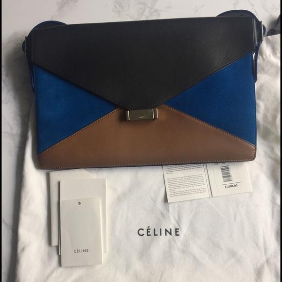 51b54c18fab2 Celine Handbags - Celine envelope with handle