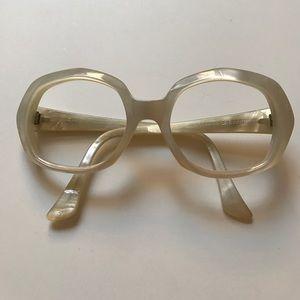 Vintage pearly eyeglasses or sunglasses no lenses