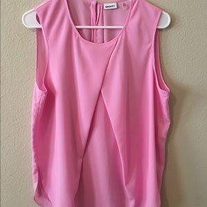 DKNYC Tops - DKNYC Pink Sleeveless Top