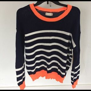 Altar'd State Sweaters - Altar'd State striped sweater with elbow patch
