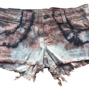 Siwy Pants - Tie dye jean short