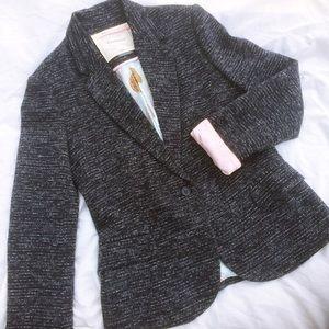 Anthropologie Jackets & Blazers - Anthropologie Cartonnier Tweed Tree Lined Blazer