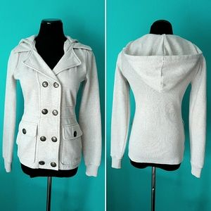 Billabong Jackets & Blazers - Billabong Hooded Peacoat