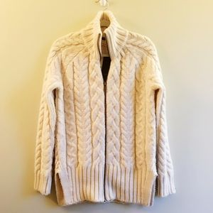 Zara NWT Thick Sweater Cardigan