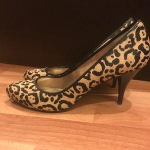 DKNYC Shoes - Dkny Cheetah Leopard print pumps shoes Sz 10 NEW