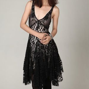 Free People black dress