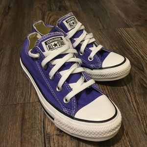 Converse Shoes - Purple Converse All Star Low Tops