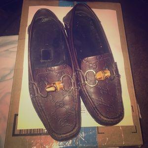 Gucci Shoes - Gucci Guccissimo Driving Moccasins. Size 36.5