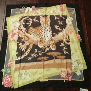 Salvatore Ferragamo Accessories - Salvatore ferragamo. 100 % silk shawl scarv