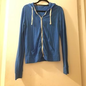abbot main Tops - Blue hoodie