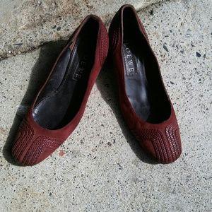 Loewe Shoes - Loewe suede heels